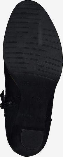MARCO TOZZI Stiefelette in schwarz: Ansicht von unten