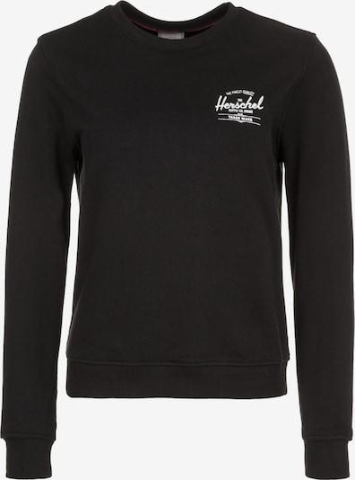 Herschel Sweatshirt in schwarz / weiß, Produktansicht
