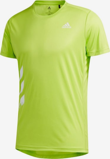ADIDAS PERFORMANCE Laufshirt in neongrün, Produktansicht