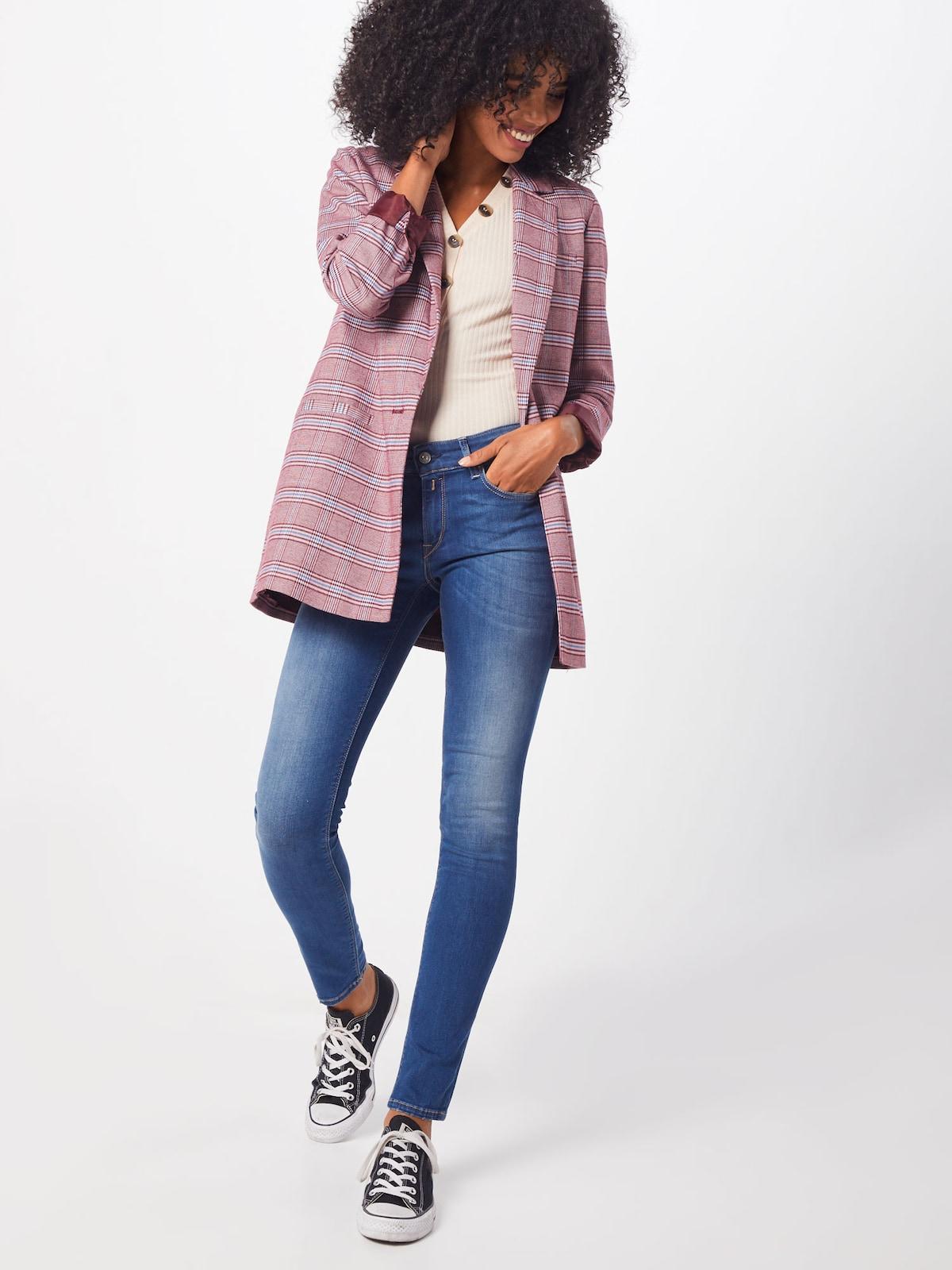Beliebt Frauen Bekleidung REPLAY Jeans 'Luz' in blue denim Zum Verkauf