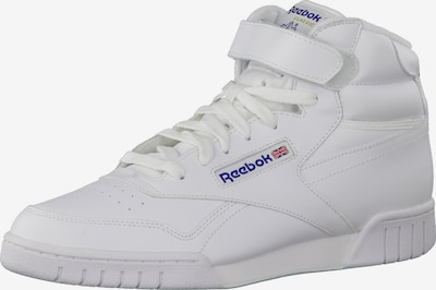 Sportbačiai su auliuku 'Ex-O-Fit Hi' iš Reebok Classic , spalva - balta, Prekių apžvalga