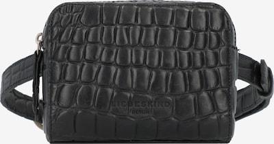 Liebeskind Berlin Gürteltasche 'MABeltbag Waxy Croco' in schwarz, Produktansicht