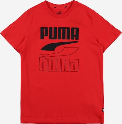 PUMA T-Shirt in rot / schwarz, Produktansicht