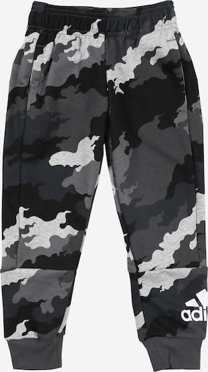 Pantaloni sport ADIDAS PERFORMANCE pe gri / negru / alb, Vizualizare produs