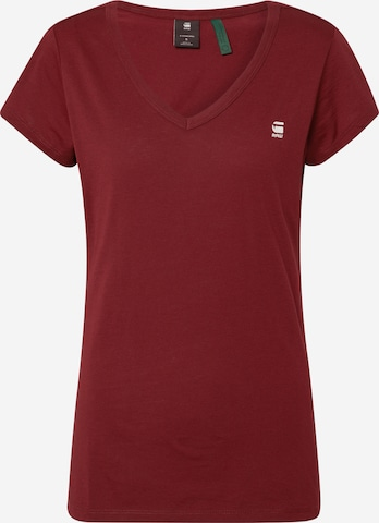 G-Star RAW Shirt 'Eyben V' in Red
