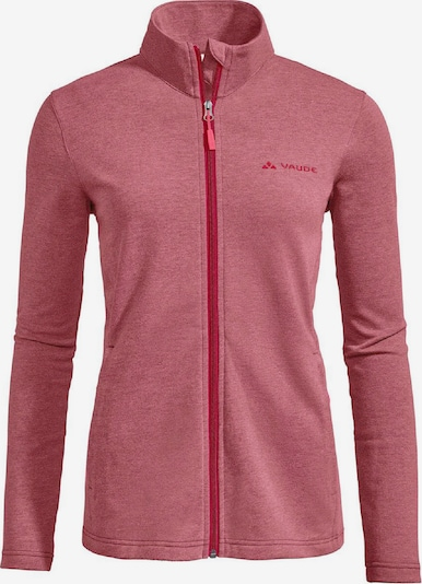 VAUDE Jacke 'Valua Fleece' in cranberry, Produktansicht
