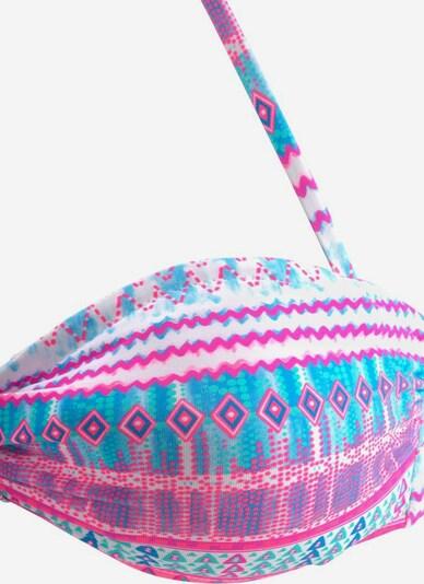 BENCH Bandeau-Bikini in mischfarben, Produktansicht