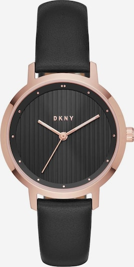 DKNY Quarzuhr 'THE MODERNIST' in rosegold / schwarz, Produktansicht