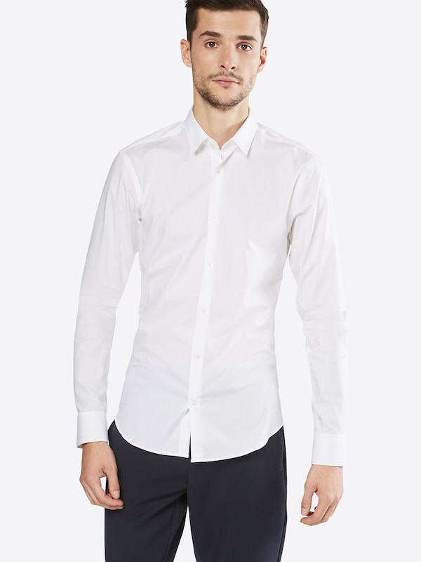 SCOTCH & SODA Hemd 'NOS - Classic longsleeve shirt in crispy cotton/lycra qualit'