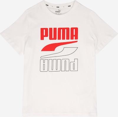 PUMA T-Shirt in rot / weiß, Produktansicht