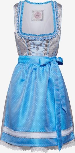 MARJO Dirndl 'Netta' in blau / grau, Produktansicht