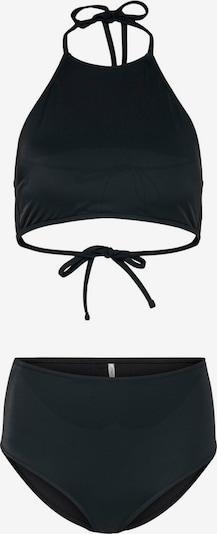 ONLY Bikini in schwarz: Frontalansicht