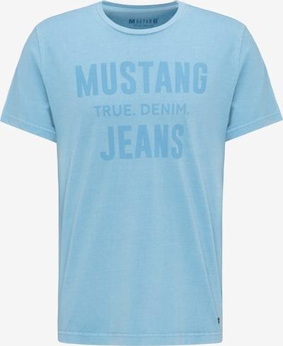 MUSTANG T-Shirt in rauchblau, Produktansicht