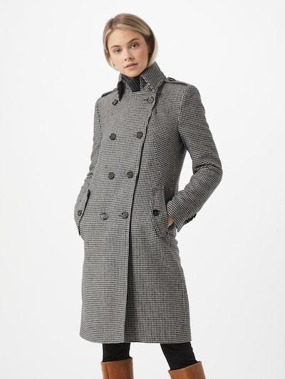DRYKORN Mantel 'Harleston' in schwarz / weiß, Modelansicht