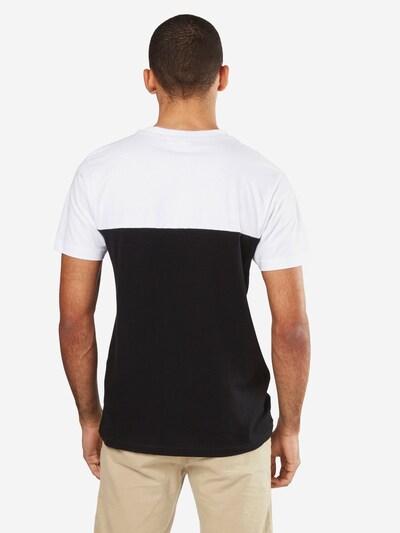 Urban Classics T-Shirt in schwarz / weiß: Rückansicht