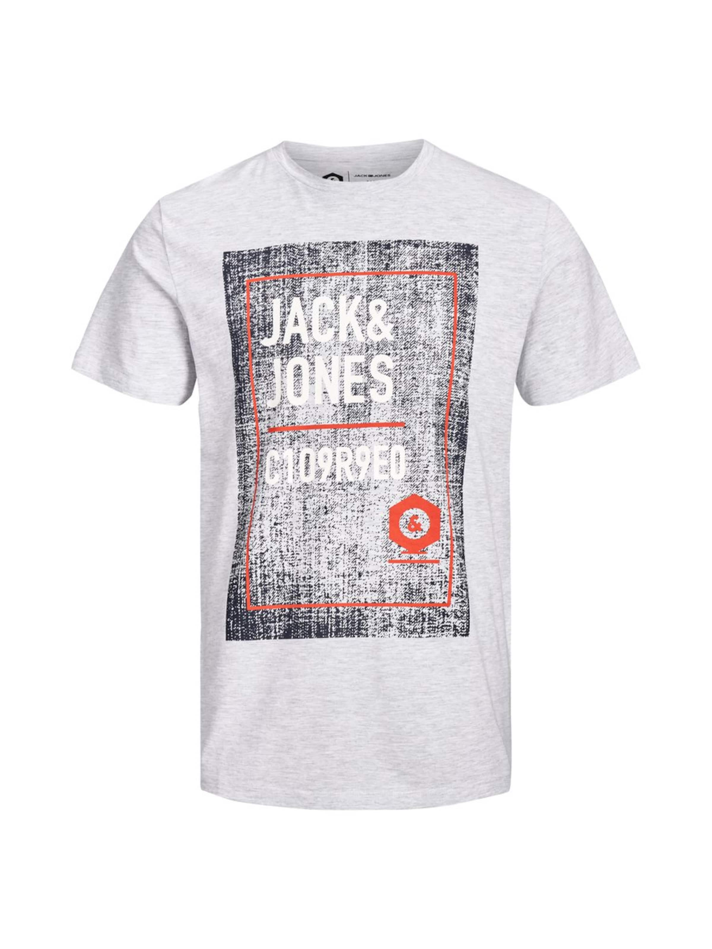 Gris T shirt Jackamp; Jones En ChinéBlanc EWD29HIY
