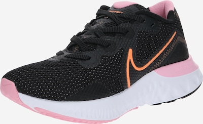 NIKE Laufschuh 'Renew Run' in orange / pink / schwarz, Produktansicht