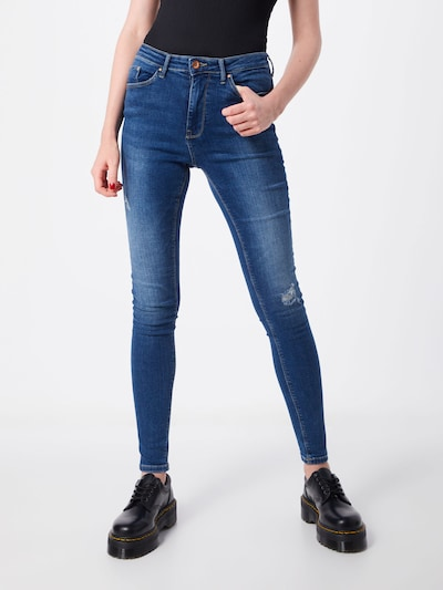 ONLY Jean en bleu denim: Vue de face
