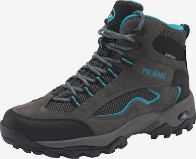 POLARINO Outdoorschuhe 'Visionary High Cut' in dunkelgrau, Produktansicht