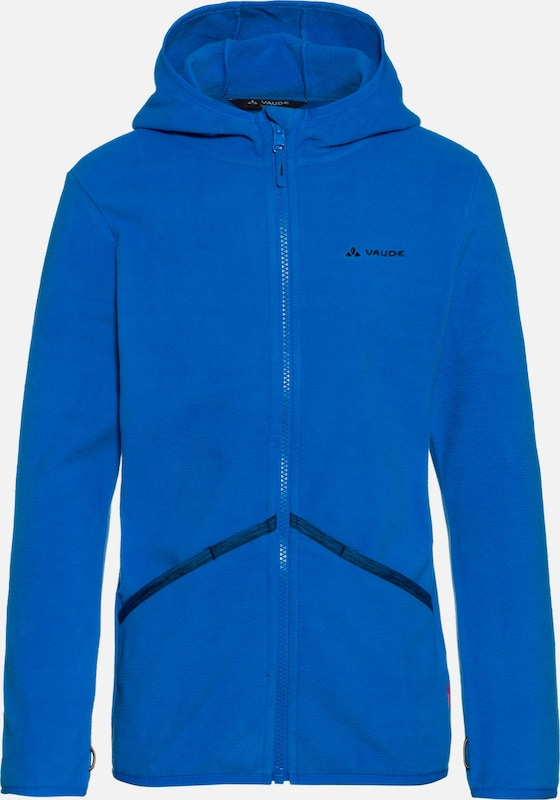 VAUDE Fleecejacke 'Pulex Hooded' in blau, Produktansicht