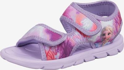 DISNEY Sandale in lila / mischfarben, Produktansicht