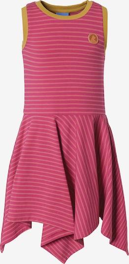FINKID Jerseykleid SAARI mit UV-Schutz, Organic Cotton in gelb / pink, Produktansicht
