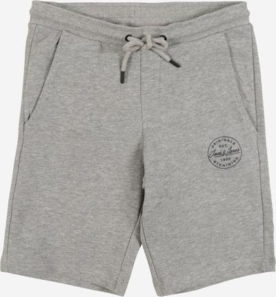 Pantaloni Jack & Jones Junior pe gri amestecat, Vizualizare produs