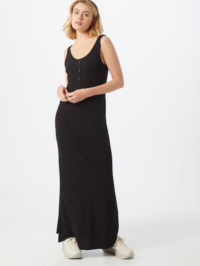 VILA Kleid 'VIDELL MAXI S/L DRESS-NOOS' in schwarz, Modelansicht