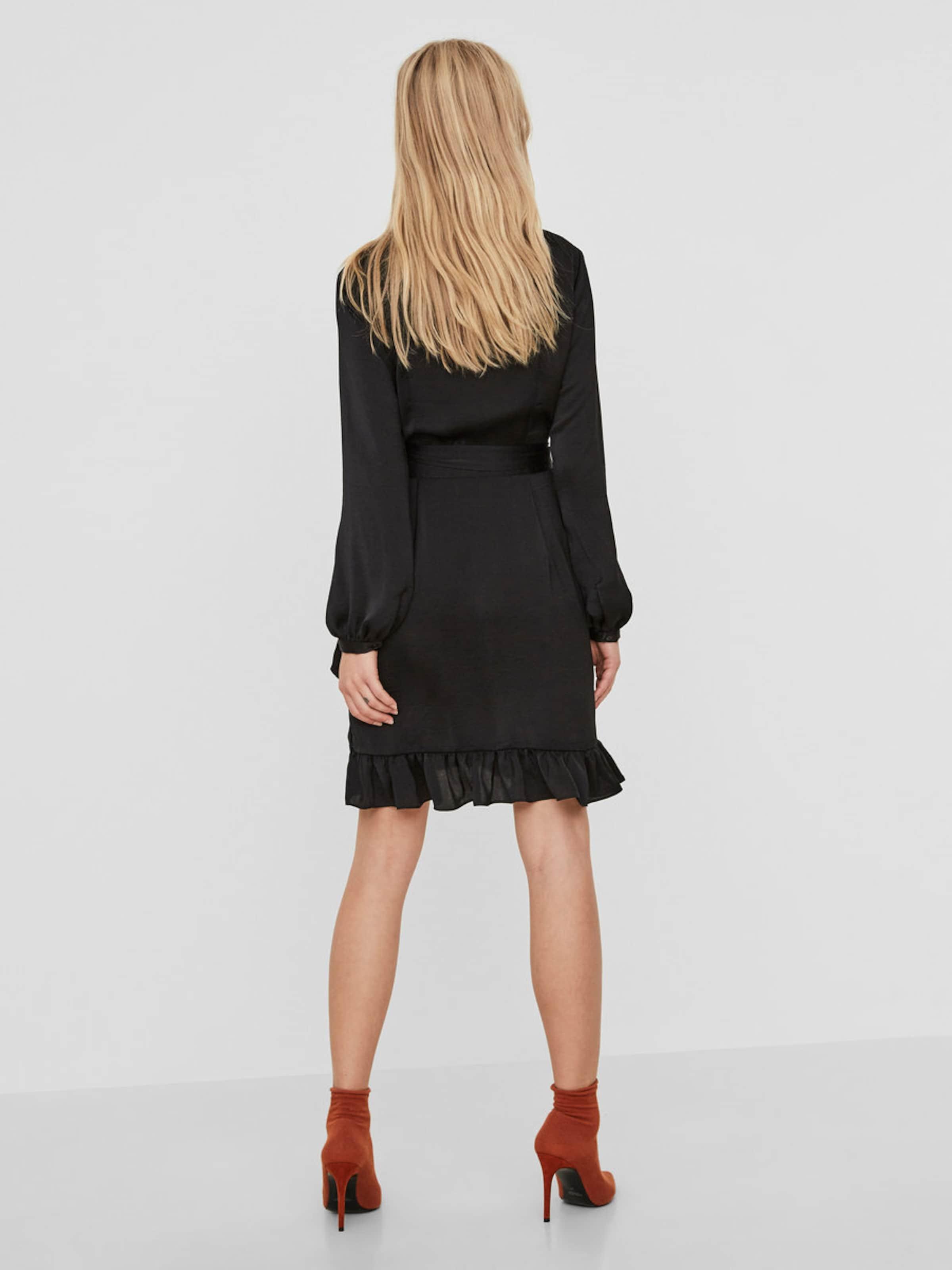VERO MODA Feminines Wickel-Kleid Billig Authentisch Manchester Günstiger Preis Freies Verschiffen Wahl jvRoC