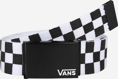 VANS Gürtel 'DEPPSTER' in schwarz / weiß, Produktansicht
