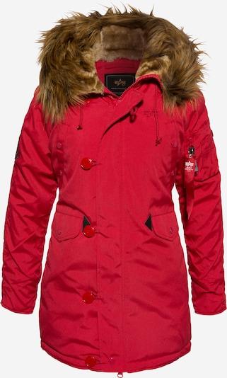 ALPHA INDUSTRIES Prehoden plašč 'Explorer' | rdeča barva, Prikaz izdelka