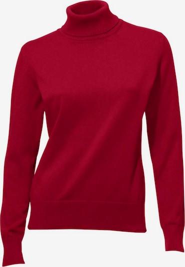 heine Pulover u rubin crvena: Prednji pogled