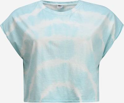 Urban Classics Curvy Shirt 'Tie Dye' in hellblau, Produktansicht
