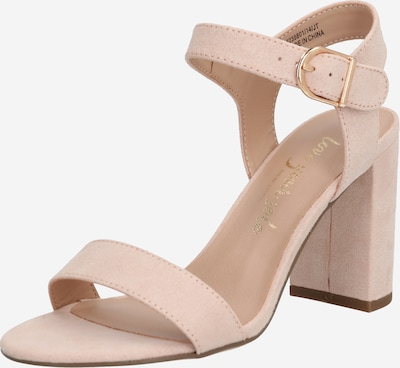 NEW LOOK Strap sandal 'VIMS 4 - SDT 2PT BLOCK' in beige, Item view