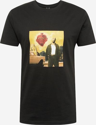 Mister Tee T-Shirt 'Tupac Sacred Heart' in mischfarben / schwarz: Frontalansicht