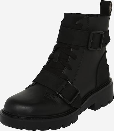 Suvarstomieji kulkšnis dengiantys batai 'Noe' iš UGG , spalva - juoda: Vaizdas iš priekio