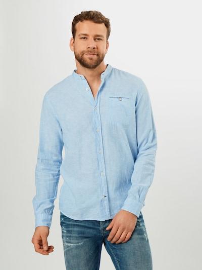 TOM TAILOR Hemd in blau: Frontalansicht