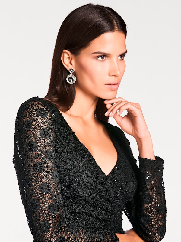 Ashley Brooke By Heine Lace Sequined Dress