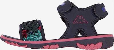 KAPPA Sandalen SEAQUEEN mit Wendepailletten in blau, Produktansicht