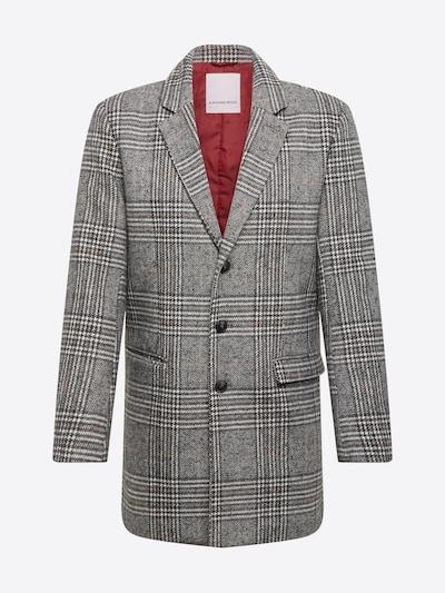 Lindbergh Mantel 'Checked coat' in grau, Produktansicht