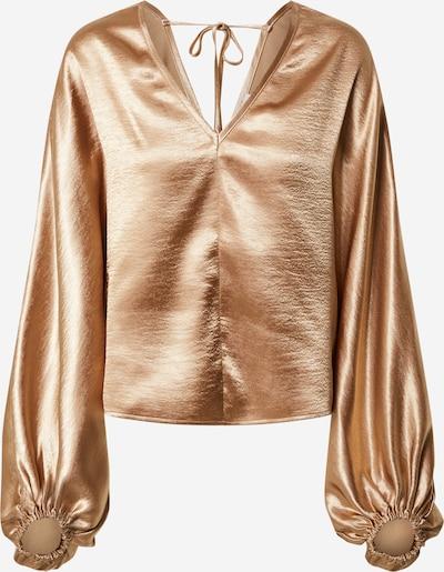 EDITED Bluse 'Fine' in bronze, Produktansicht