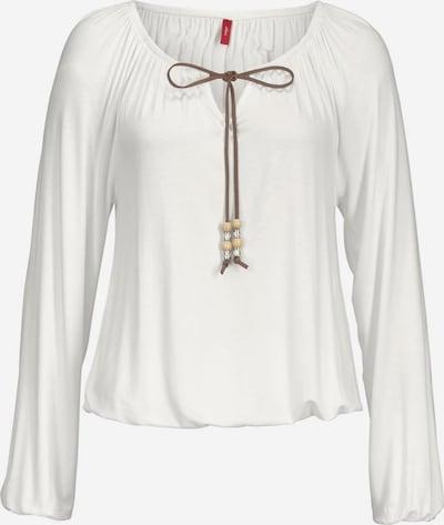 s.Oliver Strandshirt in offwhite, Produktansicht