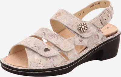 Finn Comfort Sandale in beige / mischfarben, Produktansicht
