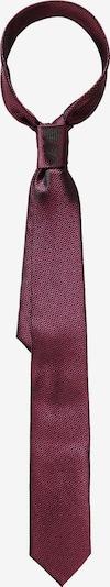 WEISE Krawatte in weinrot / schwarz, Produktansicht