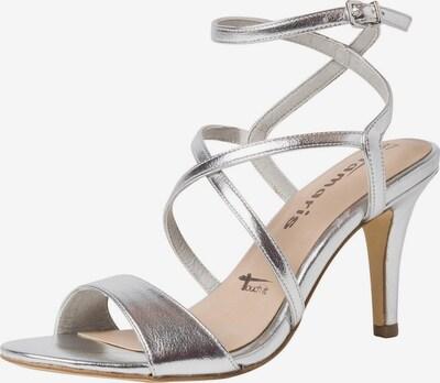 TAMARIS Sandalette in silber, Produktansicht