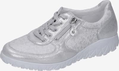 WALDLÄUFER Sneaker in silbergrau / silber, Produktansicht