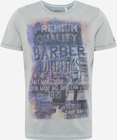 CAMP DAVID Shirt in blau / dunkelblau / grau, Produktansicht