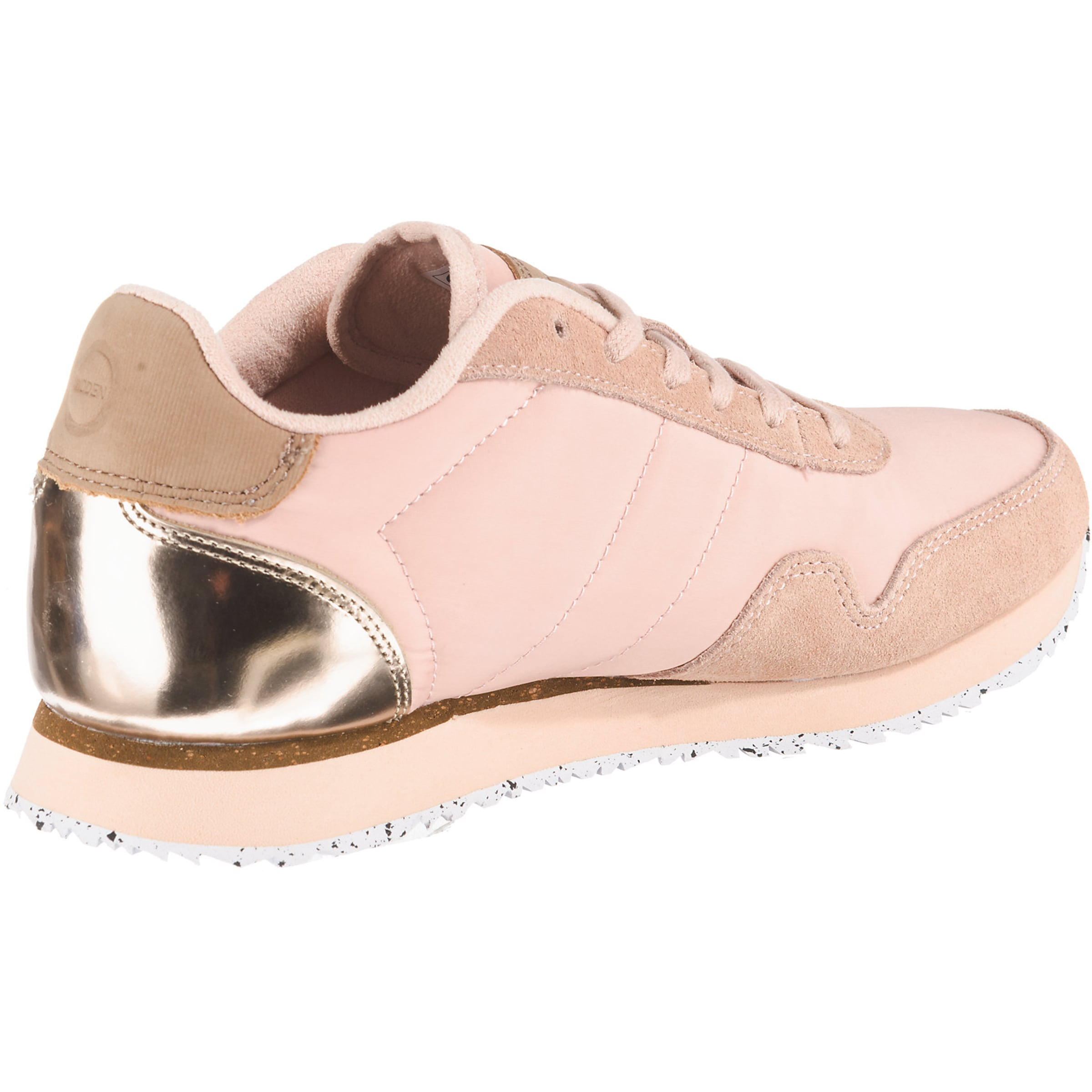 2' Low Pink Woden Sneakers In 'nora CodxEQWerB