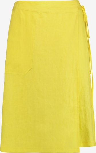 GERRY WEBER Rock G kurz Rock aus reinem Leinen in gelb, Produktansicht