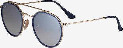 Ochelari de soare Ray-Ban pe auriu, Vizualizare produs